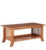 Sophia Coffee Table in Maple Finish by Royal Oak