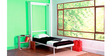 Spaceone Vertical Single Bed