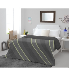 Spaces Grey Cotton & Polyester King Size Youthopia Duvet Cover 1 Pc
