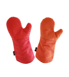 Spread Polycotton Oven Mitten - Set of 2
