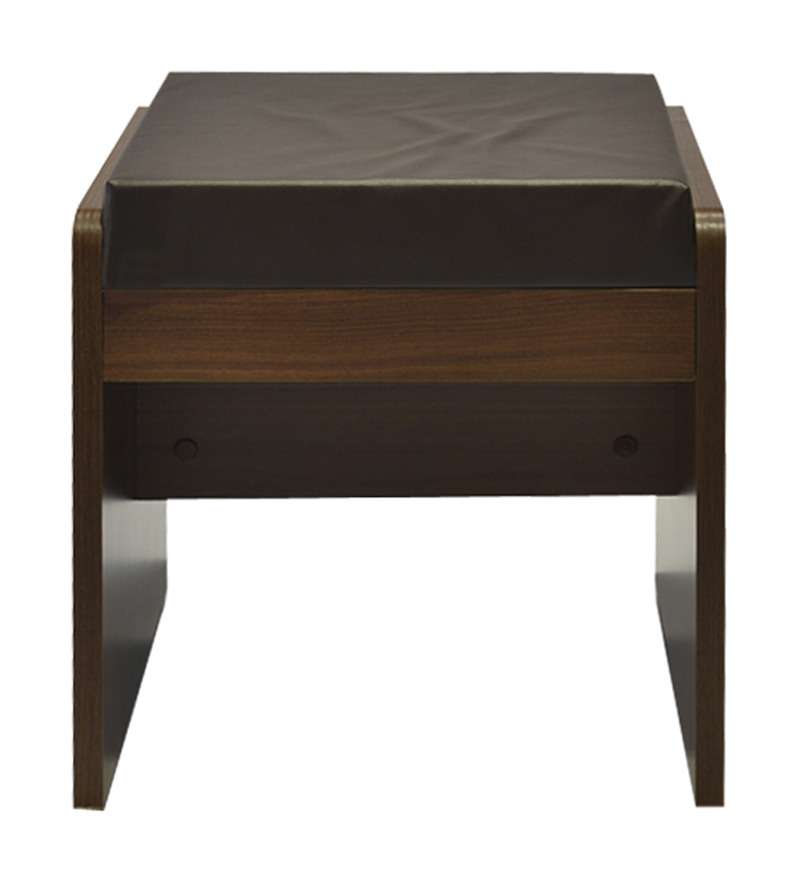 Kosmo wenge dressing table stool by spacewood by spacewood online stools furniture - Dressing wenge ...