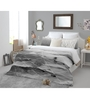 Spaces Black Cotton King Size Bohochic Bedsheet - Set of 5