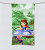SPACES Disney Sophia Green Bath Towel