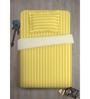 Spaces Gold Cotton Single Size Skyrise Bedsheet - Set of 2