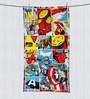 SPACES Marvel Comics Multicolour Bath Towel
