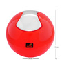 Spirella Swiss Design Red 1 L Mini Trash Bin