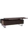 Splendor Coffee Table with Liftable Top in Dark Oak Finish by Gravity