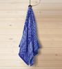 ESPRIT Blue Cotton Hand Towel