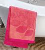 ESPRIT Leaves Orange Cotton Hand Towel