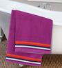 ESPRIT Purple Cotton Hand Towel