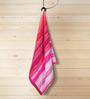 ESPRIT Red Cotton Hand Towel