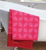 ESPRIT Dual Red Cotton Hand Towel