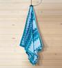 ESPRIT Turquoise Cotton Hand Towel
