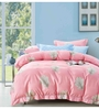 Spread Multicolour 100% Cotton King Size Bedsheet - Set of 3