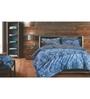 Spread Multicolour 100% Cotton Queen Size Bedsheet - Set of 3