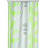 Spirella Green Polyester Shower Curtain
