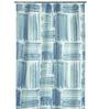 Spirella Graffito Blue Polyester Shower Curtain