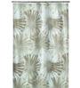 Spirella Liola Yellow Polyester Shower Curtain