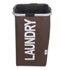 Spread Polyester 50 L Brown Laundry Basket