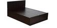 Squadro M1 Queen Bed in Cinnamon Colour by Godrej Interio