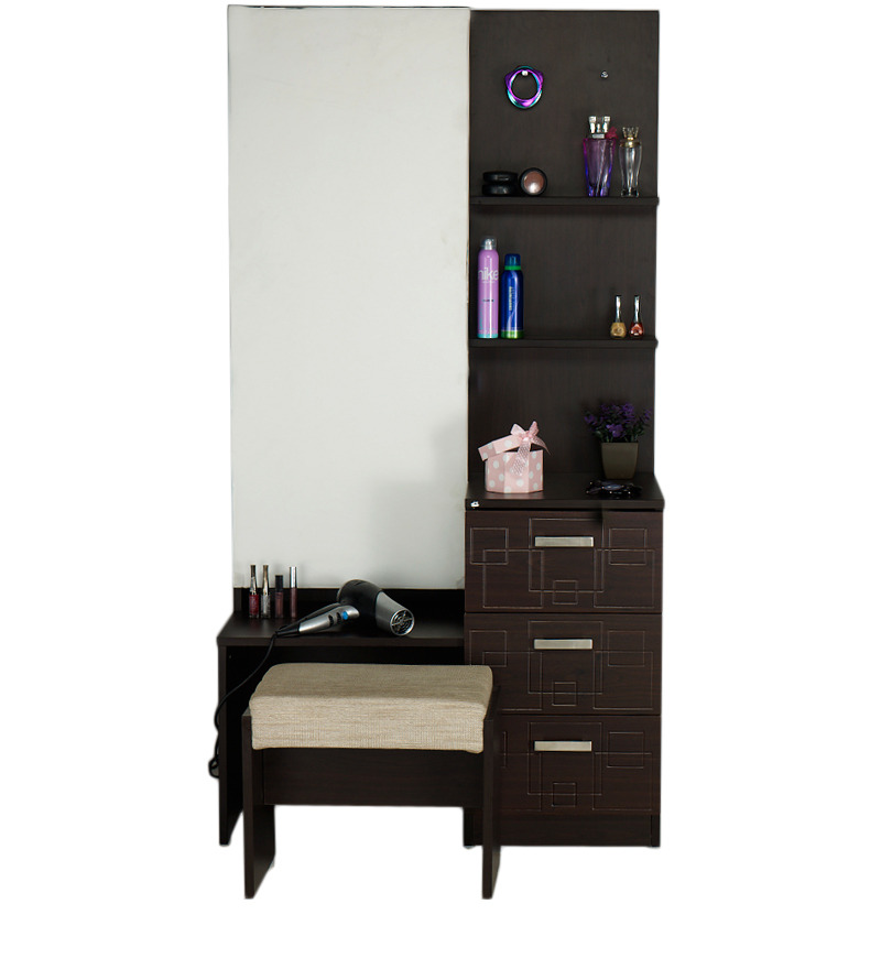 Chocolat Premium Dressing Table In Cinnamon Colour With