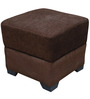 Square Pouffe in Brown Colour by RVF