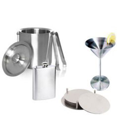 SS Silverware Stainless Steel Cocktail Set - Set of 5