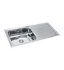 SS Silverware Stainless Steel Single Bowl Kitchen Sink with Drainer - SS-IN-K- DB