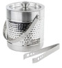 SS Silverware 1750 ML Stainless Steel Ice Bucket With Tong