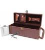 SS Silverware 3 Piece Brown Color Wooden Bar Set