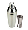 SS Silverware Stainless Steel 800 ML Cocktail Shaker with Peg Measure Set