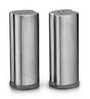 SS Silverware Silver Stainless Steel 60 ML Cylindrical Salt and Pepper Storage - Set of 2