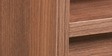 Star Bedroom Set with Hettich / Hafele  Fittings  in Walnut Finish by Pine Crest
