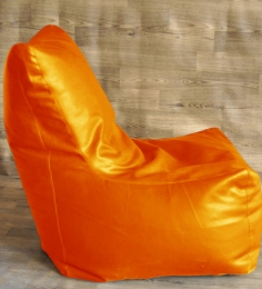 Style HomeZ Orange XXL Chair Shaped Bean Bag