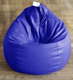 Style HomeZ royal Blue XXL Classic Bean Bag Cover (Without Beans)