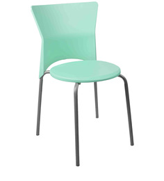 Stacking Chair in Light Green Colour by Ventura