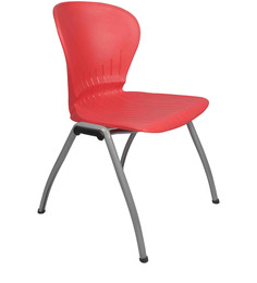 Stacking Chair in Red Colour by Ventura