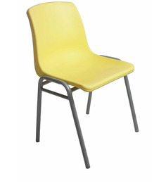 Stacking Chair in Yellow Colour by Ventura