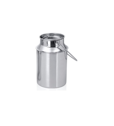 King International Silver Stainless Steel 500 ML Milk Can