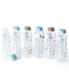 Steelo Blue Plastic 1 L Bottle - Set of 6