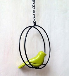 Studio Earthbox Yellow Bird Round Arch Accessory