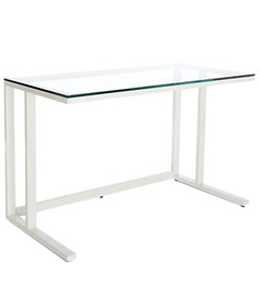 Study Desk White by Asian Arts