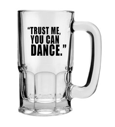 Stybuzz 600 ML You Can Dance Beer Mug