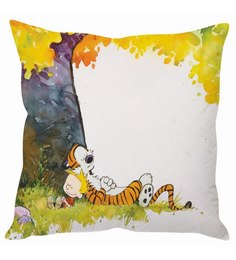 Stybuzz Calvin And Hobbes Cushion Cover