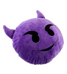 Stybuzz Devil Smile Emoji Cushion