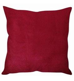 Stybuzz Lush Velvet Maroon Cushion Cover