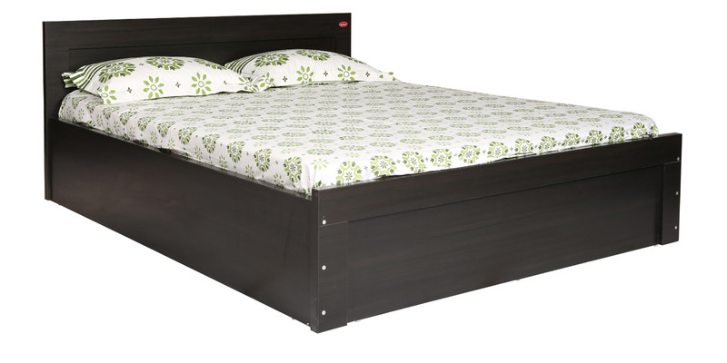 Sturdy Queen Size Bed in Wenge Finish by Kurl-On