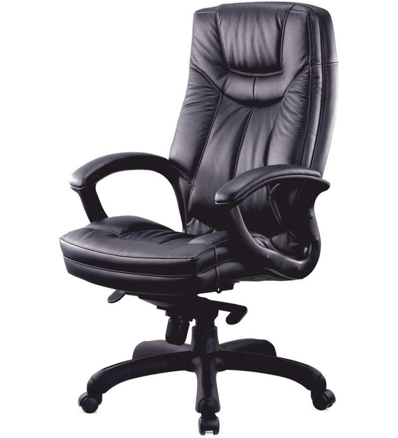 office black high back revolving chair stellar office black high back