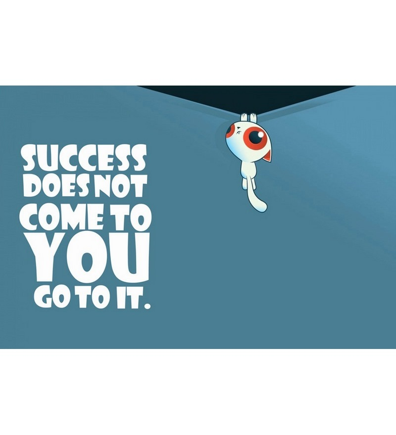 Stybuzz Success Quote Poster by Stybuzz Online - Slogans ...