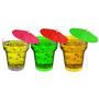 Stallion Barware Shot Glass - Disposable - 60  ML Mix Colors